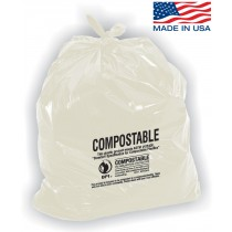 Compostable Trash Bags - 56 Gallon Capacity